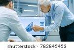 industrial designer has...   Shutterstock . vector #782845453