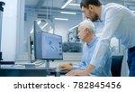 industrial designer has... | Shutterstock . vector #782845456