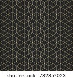 geometric pattern of... | Shutterstock .eps vector #782852023