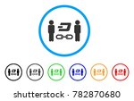 people dash blockchain rounded... | Shutterstock .eps vector #782870680