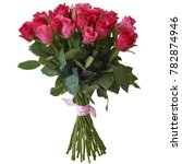 bouquet of different flowers on ... | Shutterstock . vector #782874946