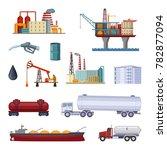 oil exploration. petroleum...   Shutterstock . vector #782877094