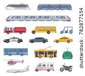 different municipal... | Shutterstock . vector #782877154