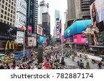 new york city  usa   circa june ... | Shutterstock . vector #782887174