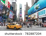 new york city  usa   circa june ... | Shutterstock . vector #782887204