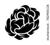 flower rose  black and white.... | Shutterstock .eps vector #782900128