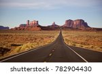 monument valley   forest gump... | Shutterstock . vector #782904430