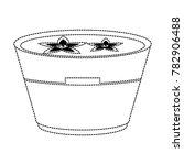 spa oil in bowl | Shutterstock .eps vector #782906488