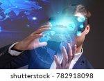 business  technology  internet...   Shutterstock . vector #782918098