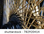 motorcycle wheel abstract close ... | Shutterstock . vector #782920414
