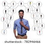 network people web connection... | Shutterstock . vector #782946466
