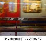 Underground Train Passing Bake...