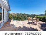 amazing patio   wooden deck... | Shutterstock . vector #782963710