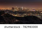 downtown los angeles from... | Shutterstock . vector #782983300