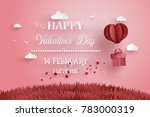 illustration of love and... | Shutterstock .eps vector #783000319