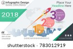 business infographics template  ... | Shutterstock .eps vector #783012919