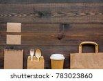 craft paper color set. paper... | Shutterstock . vector #783023860