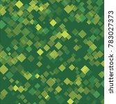 rhombus green consists of... | Shutterstock .eps vector #783027373