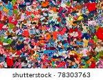 Pieces Of Scrappy Colored ...