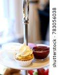 gourmet mini cupcake on a... | Shutterstock . vector #783056038