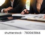 administrator business man... | Shutterstock . vector #783065866