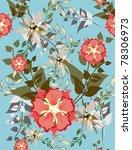 beautiful vector a seamless...   Shutterstock .eps vector #78306973
