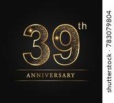 anniversary  aniversary  thirty ... | Shutterstock .eps vector #783079804