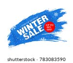 winter sale discount | Shutterstock . vector #783083590