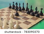 on the chessboard are arranged...   Shutterstock . vector #783090370