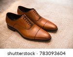 brown leather classic male... | Shutterstock . vector #783093604