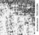 grunge black white. monochrome... | Shutterstock . vector #783110284