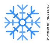 snow christmas and holidays | Shutterstock .eps vector #783115780