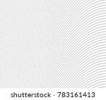 wave stripe background   simple ... | Shutterstock .eps vector #783161413