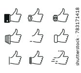"""like"" icons in different... 