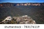 blue mountain national park ... | Shutterstock . vector #783176119