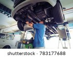 car service  repair  ... | Shutterstock . vector #783177688