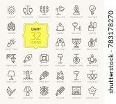 lights  bulb  outline web icon... | Shutterstock .eps vector #783178270