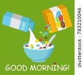 vector illustration. cereal... | Shutterstock .eps vector #783210046