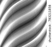 linear pattern in diagonal ... | Shutterstock .eps vector #783211858