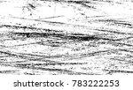 grunge watercolor dry brush... | Shutterstock .eps vector #783222253