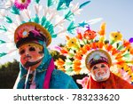 huehues mexican dancers... | Shutterstock . vector #783233620