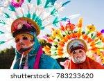 huehues mexican dancers... | Shutterstock . vector #783233620