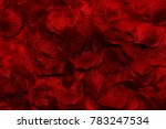 Stock photo rose petals artificial background 783247534