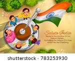 illustration of indian people... | Shutterstock .eps vector #783253930
