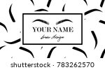 brow design logo business card...