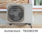 outdoor unit of air conditioner ... | Shutterstock . vector #783280198