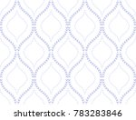 abstract geometric pattern of... | Shutterstock . vector #783283846
