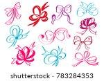 doodle style decorative... | Shutterstock . vector #783284353