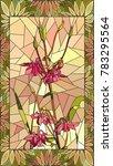 vector mosaic with columbine... | Shutterstock .eps vector #783295564