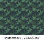 abstract camouflage pattern.... | Shutterstock .eps vector #783300259